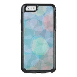 iPhone azul 6 da aguarela abstrata e 6S Otterbox