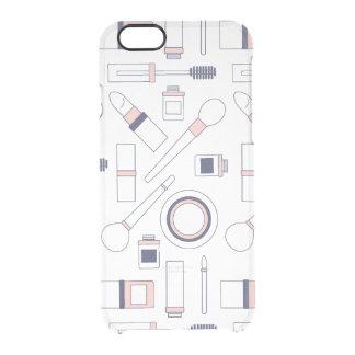 iPhone bonito 6 do maquilhador claro Capa Para iPhone 6/6S Clear