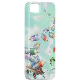 iPhone bonito do carro do brinquedo dos desenhos Capa Barely There Para iPhone 5