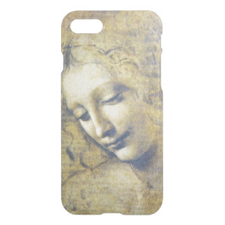 iPhone claro 7 de Leda Leonardo da Vinci da jovem Capa iPhone 7