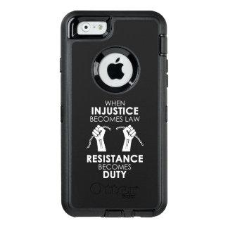 iPhone da injustiça & exemplo de Samsung Otterbox