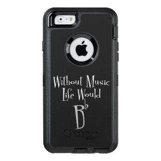 iPhone de B & exemplo lisos de Samsung Otterbox