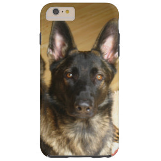 Iphone de Ben do german shepherd mais o caso Capas iPhone 6 Plus Tough