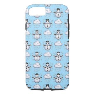 iPhone de Emoji do boneco de neve 8/7 de capa de