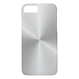 iPhone de prata 7 de Apple, mal lá capa de