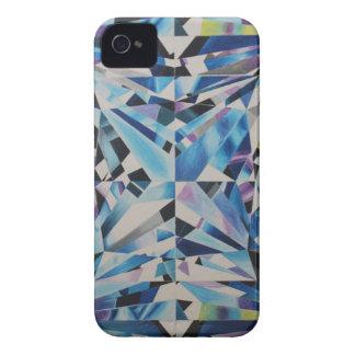 iPhone de vidro 4 do diamante, mal lá capa de