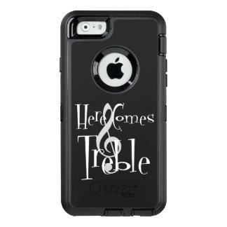iPhone do triplo & exemplo de Samsung Otterbox