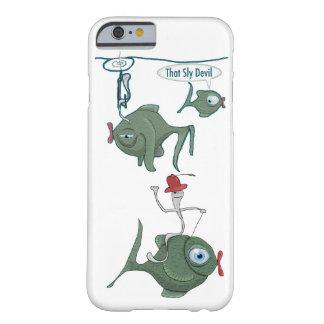 iPhone engraçado 6 dos peixes, mal lá caso Capa Barely There Para iPhone 6