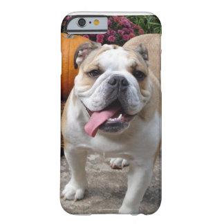 iPhone engraçado bonito do buldogue inglês 6 Capa Barely There Para iPhone 6