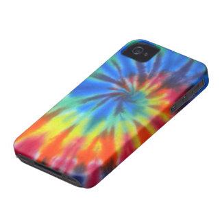 iPhone espiral azul 4 da case mate da Laço-Tintura Capas Para iPhone 4 Case-Mate