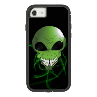 iPhone estrangeiro verde 8/7 de Apple, capa de
