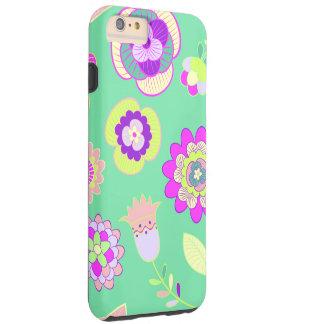 iPhone floral Minty 6/6s mais, capa de telefone