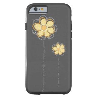 iPhone floral na moda 6 da decoração Capa Tough Para iPhone 6