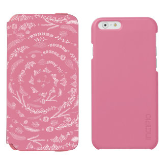 iPhone floral rústico 6 do teste padrão da arte