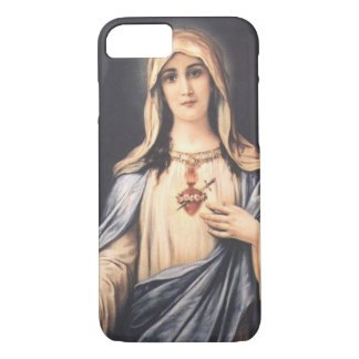 iPhone imaculado 7 da Virgem Maria do coração Capa iPhone 7