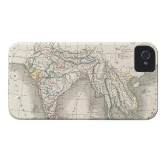 iPhone indiano 4 do impressão do mapa de India do Capas Para iPhone 4 Case-Mate