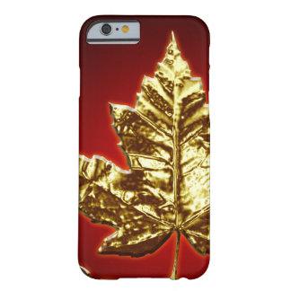 iPhone legal de Canadá 6 presentes da folha de Capa Barely There Para iPhone 6