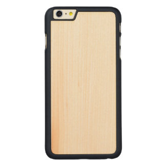 iPhone magro de madeira 6/6s mais o caso Capa Para iPhone 6 Plus De Carvalho, Carved®