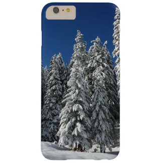 iPhone nevado de Frost do inverno das árvores 7 Capas iPhone 6 Plus Barely There
