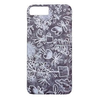 Iphone Pastel da flora do teste padrão Capa iPhone 7 Plus