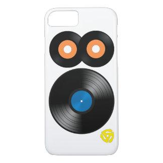 iPhone retro 7 do registro de vinil do anos 80 Capa iPhone 7