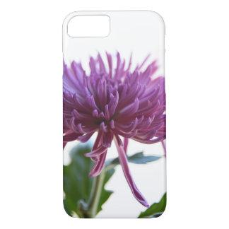 iPhone roxo 8/7 da flor da paixão, capa de