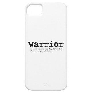 iPhone SE/5/5S da definição do guerreiro mal lá Capa Para iPhone 5