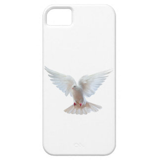 IPhone-SE da pomba do branco+- Capa Barely There Para iPhone 5