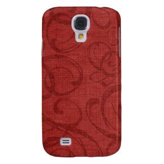 iPhone vermelho 3G/3GS do caso do natal vintage Galaxy S4 Cases