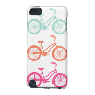 IPod Touch 5G Case - Multicolor Bicycle Pattern Capa Para iPod Touch 5G