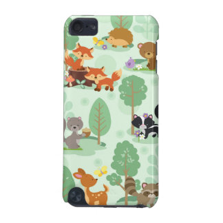 Ipod touch 5G dos animais da floresta Capa Para iPod Touch 5G