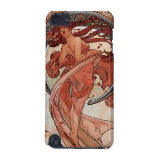 Ipod touch do art deco da dança de Alphones Mucha Capa Para iPod Touch 5G