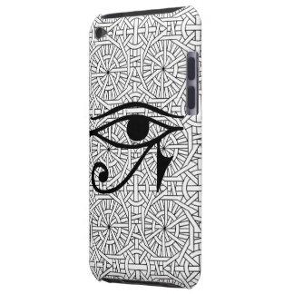 Ipod touch egípcio da case mate do olho & do teste capa para iPod touch