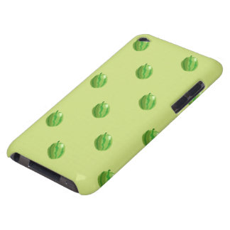ipod touch verde do teste padrão da melancia capa para iPod touch