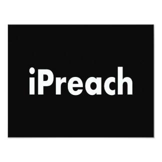 iPreach Convite 10.79 X 13.97cm