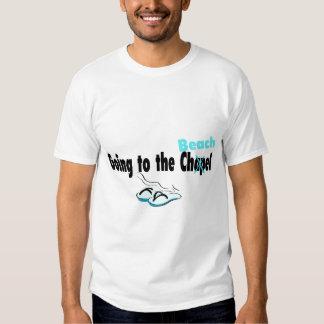 Ir à capela (praia) (falhanço de sacudir) tshirts