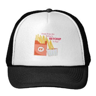 Ir à ketchup boné