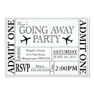 Ir afastado convite do bilhete do partido