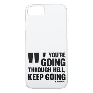 Ir Keep! Caso * capas de iphone * motivação