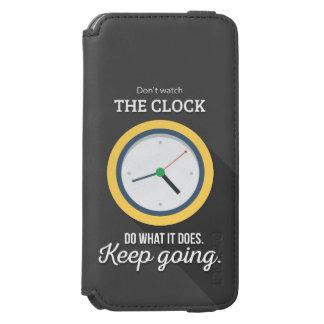 Ir Keep não olha o pulso de disparo Capa Carteira Incipio Watson™ Para iPhone 6