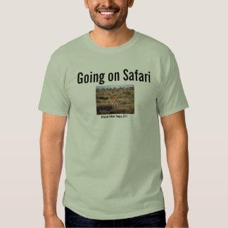 Ir no safari camisetas