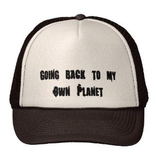 Ir para trás a meu próprio planeta boné