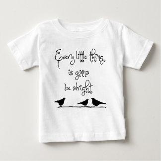 Ir ser tudo bem camiseta para bebê