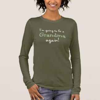 Ir ser um design escuro da camisa da avó outra vez