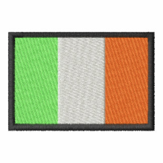 Ireland Camiseta Bordada Polo