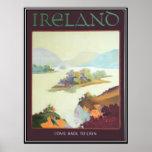 Ireland, vindo para trás ao impressão de Erin