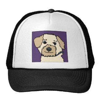Irene os desenhos animados do cão de Terrier Boné