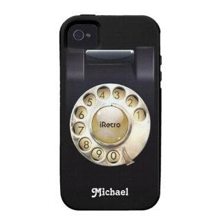 iRetro Oldschool giratório Capinhas iPhone 4/4S