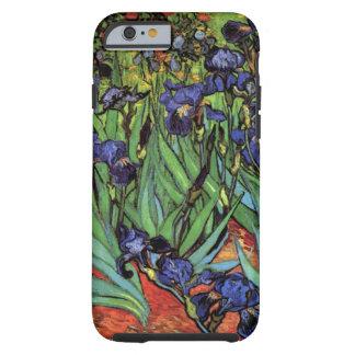 Íris de Van Gogh, arte dos apos impressionismo do Capa Tough Para iPhone 6