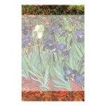 Íris de Van Gogh, arte dos apos impressionismo do Papeis Personalizados